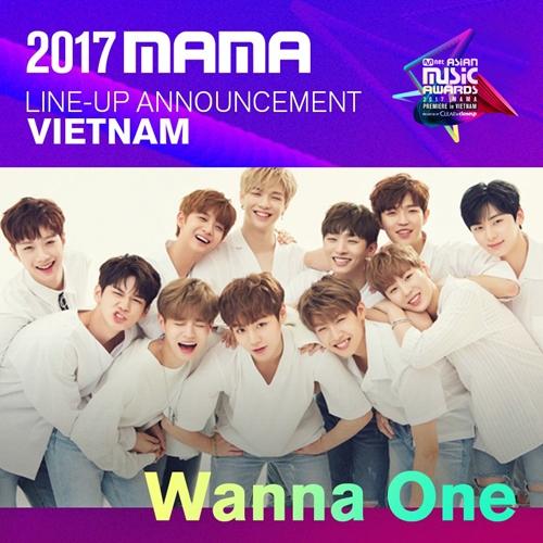 Nhóm nhạc Wanna One sẽ sang Việt Nam trình diễn.