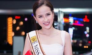 Khánh Ngân lên đường thi 'Hoa hậu Hoàn cầu' chỉ sau 7 ngày chuẩn bị