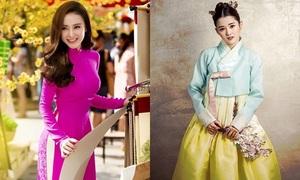 Người Hàn Quốc so sánh nét đẹp của áo dài và hanbok