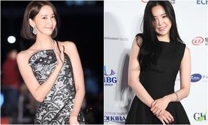 Yoon Ah lộng lẫy, Na Eun giản dị bất ngờ trên thảm đỏ