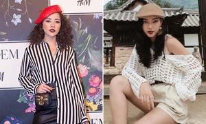 Sao Việt người phong cách, người bị chê vì hot trend mũ nồi