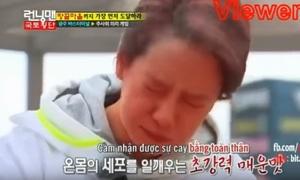 Sao 'Running Man' bị đánh bại vì thử thách ăn đồ cay