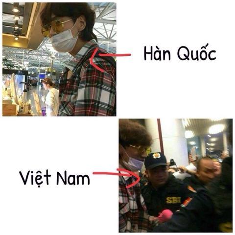 Lee Kwang Soo trước và sau khi đến Việt Nam.