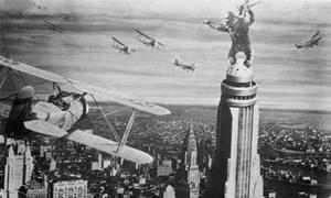 Không thể tin nổi cảnh leo tháp trong 'King Kong' cách đây gần thế kỷ