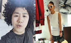 Sao Việt 29/10: Trung Quân cosplay thành Tiên Tiên, Mai Ngô pose hình còng lưng