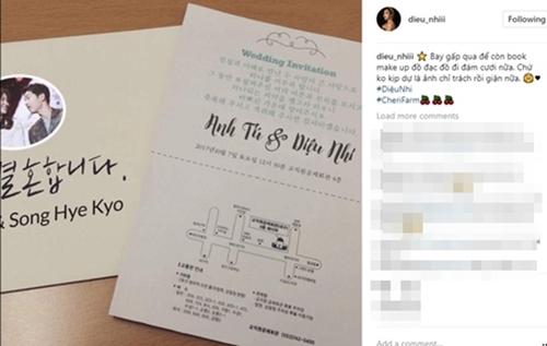Nghệ sĩ hài Thu Trang - Diệu Nhi troll fan bằng ảnh chụp được mời dự đám cưới Song Hye Kyo và Song Joong Ki