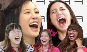 6 nữ idol mở miệng cười là mất sạch hình tượng
