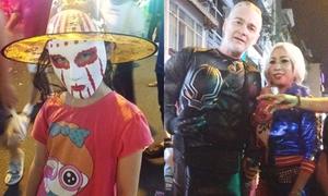 'Quỷ dữ' và 'Siêu anh hùng' tràn ngập đêm phố Tây ở TP HCM