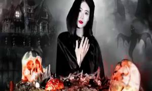 'Thánh nữ công sở' mở đại tiệc mừng Halloween