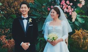 Vì sao bó hoa cưới của Song Hye Kyo gần chục triệu đồng?
