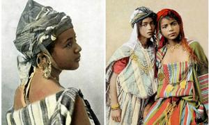 Dung nhan thế hệ trẻ thế giới 100 năm trước