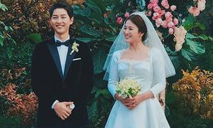 Váy cưới của Song Hye Kyo có giá 3 tỷ đồng