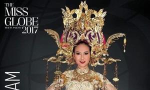 Khánh Ngân lọt vào top 5 được yêu thích tại Hoa hậu Hoàn cầu