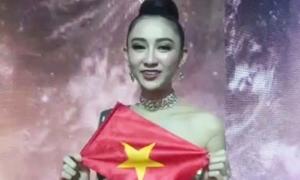 Hà Thu: 'Buồn và thất vọng về kết quả Miss Earth'