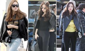101 cách mix áo khoác da trong mùa lạnh của Na Eun