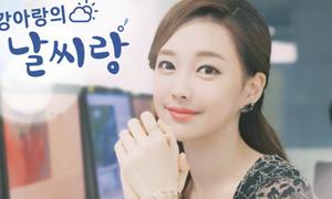'Cô gái thời tiết' có nhan sắc chẳng kém thần tượng Kpop