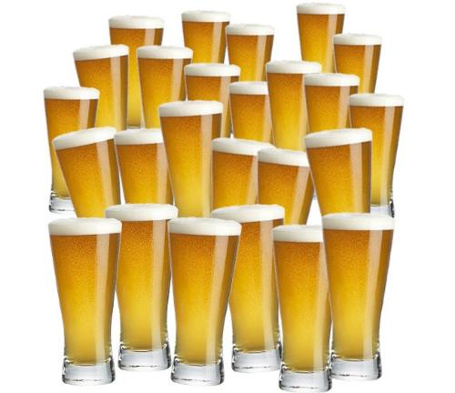 312 chai bia quả là một con số không nhỏ chút nào