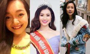 3 cô gái gây chú ý khi tổng thống, tỷ phú thế giới đến Việt Nam