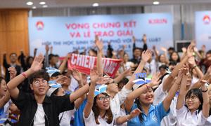 Hơn 100.000 thí sinh tham gia hội thi về pháp luật