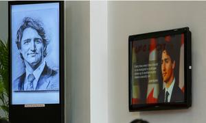 Thủ tướng Canada qua nét vẽ của chàng sinh viên ĐH Tôn Đức Thắng