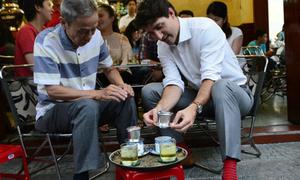 Hình ảnh thân thiện của các lãnh đạo thế giới ở Việt Nam