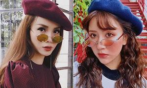 Cách đeo kính mới của các hot girl để mặt 'sang' càng thêm 'chảnh'