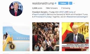 Tổng thống Mỹ Donald Trump liên tục đăng ảnh về Việt Nam