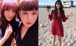 Ảnh hot sao Hàn 12/11: Tiffany khoe chân thon