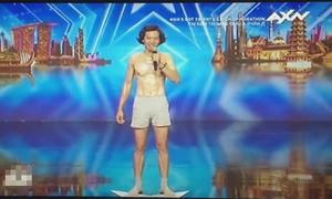 Kỹ sư người Việt gây cười vì nhảy... không giống ai tại 'Got Talent châu Á'