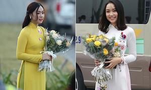 Ý nghĩa sau tà áo dài của nữ sinh Việt khi đón tổng thống, thủ tướng