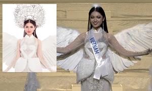 Thùy Dung bị NTK trách: 'Thi Hoa hậu mà mấn 2 kg không đội được'