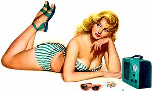 Vẻ sexy khó cưỡng của 12 sao nữ khi trở thành người mẫu thập niên 1950