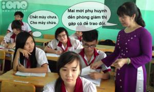 Những câu nói, hành động chỉ có ở thầy cô giáo