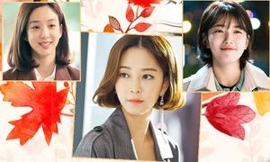 3 'nữ thần tóc ngắn' trên màn ảnh Hàn 2017