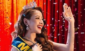 Giữa ồn ào 'hát live hụt hơi', Chi Pu tung hình ẩn ý 'hãy gọi tôi là hoa hậu'