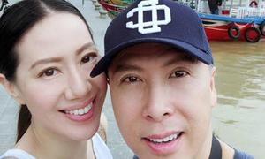 Chân Tử Đan cùng vợ hoa hậu 'kim cương' đang ở Việt Nam