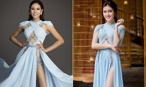 Nguyễn Thị Loan mặc toàn 'đồ cũ' khi thi Miss Universe