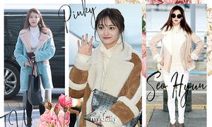 4 kiểu áo khoác 'bất hủ' của sao Hàn để sành điệu bất chấp rét buốt