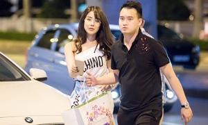 Diệp Lâm Anh được bạn trai thiếu gia hộ tống đón So Ji Sub