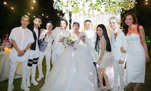 Hội bạn thân 'quyền lực' dự đám cưới Khởi My - Kelvin Khánh