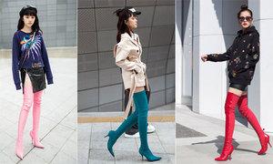 Mốt boots 'khó vào khó ra' hớp hồn sao Việt