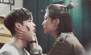 Những cảnh hôn 'thiếu muối' nhất trong drama Hàn