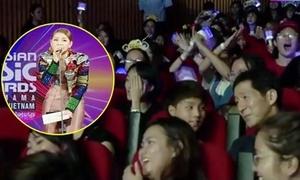Hành động gây tranh cãi của fan Kpop Việt khi Chi Pu hát tiếng Hàn