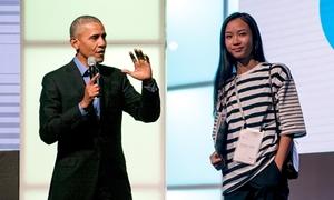 Suboi gặp lại ông Obama sau lần 'gây bão' tại Việt Nam