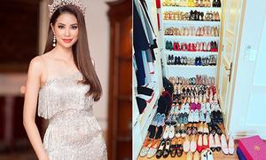 Những mỹ nhân Việt có tủ giày hoành tráng nhất Vbiz