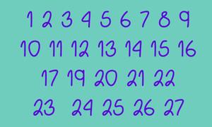 Tìm số còn thiếu trong 30 giây cho biết khả năng tập trung của bạn
