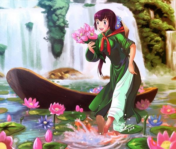 12-chom-sao-trong-ta-ao-dai-viet-phong-cach-anime-8