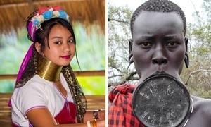 Những tiêu chí sắc đẹp khác lạ ở các quốc gia