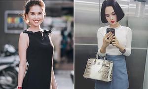 Những mỹ nhân Việt hàng hiệu đầy ắp nhưng chỉ mặc đồ mấy trăm nghìn