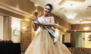 Phi Thanh Vân đăng quang Hoa hậu doanh nhân Thế giới sau dao kéo